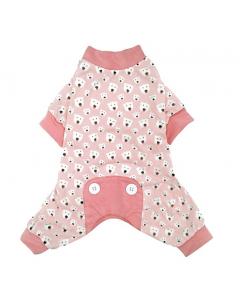 Pyjama rose foufoudog