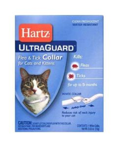 Anti-flea, flea and tick collar for cat, Hartz