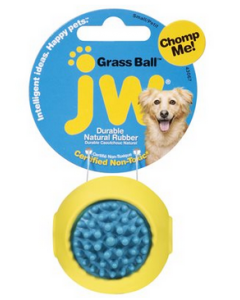 Balle à herbe pour chiens, JW