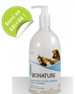 shampoing bio pour chiens