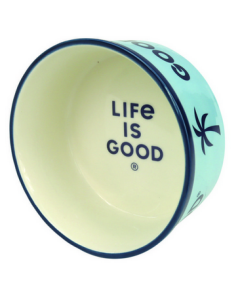 Bol pour animaux en céramique, Life is good