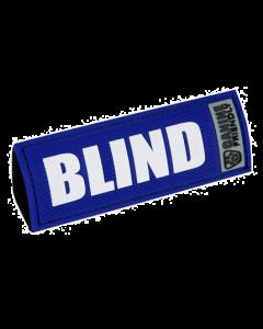Étiquette Blind pour chiens