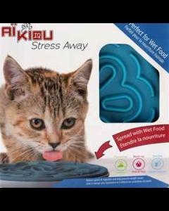 Bol interactif pour nourriture humide pour chats, Aïkiou