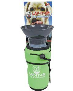 Bouteille d'eau transportable pour chien Lap-It-Up 20oz verte