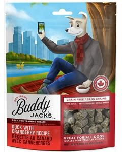 Gâteries pour chiens Buddy Jack's au canard et canneberges