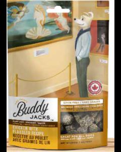 Gâteries pour chiens au poulet avec graines de lin, Buddy Jack's