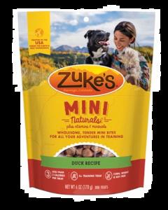 Gâteries pour chiens au canard, Zuke's Mini naturals
