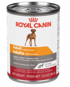 Conserve chien adulte pâté en sauce  Royal Canin, 385g