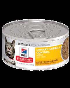 Conserve pour chat urinaire et boule de poils Science Diet