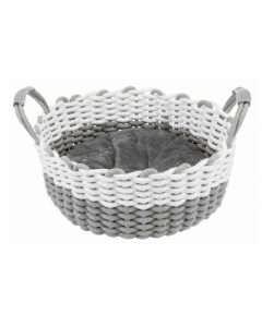Bed for small dogs and cats, Nabou basket 45cm, Trixie