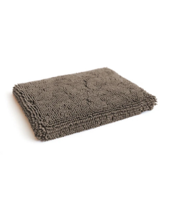Coussin gris pour chiens en microfibre, DGS