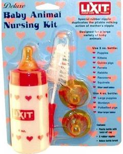 Lixit nursing bottle set for dog or cat, 4 oz.