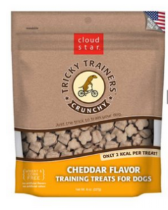Crunchy Cheese Treats for Dogs, Cloud Star, 8oz