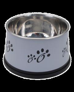 bol pour chiens, Maslow gris 30 oz