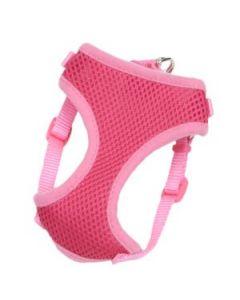 Harnais Comfort Soft enveloppant pour chiens, rose