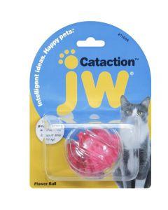 Balle fleur pour chat Cataction JW