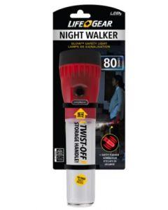 Lampe de poche signalisation 80 lumens au led Night Walker Life Gear