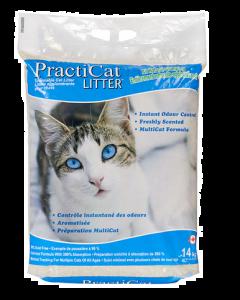 Clumping cat litter, Practicat 14kg