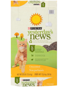 Recycled Paper Cat Litter, Purina Yesterday's News