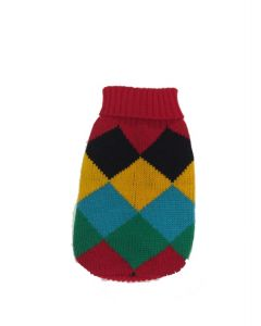 Unisex knitwear for dogs, colored