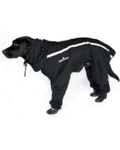 4-legged fleece dog coat