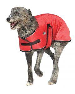 Manteau d'hiver pour chien Tundra Shedrow K9 Rouge (