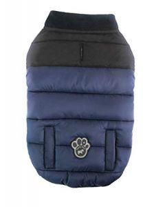 Manteau d'hiver Summit bleu Canada Pooch pour chien