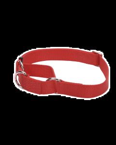 Collier martingale No Slip pour chiens, rouge, Coastal