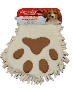 Mitaine lave chien