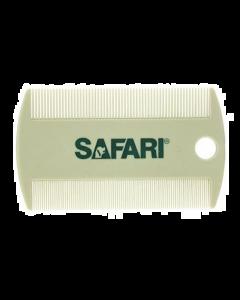 Peigne à puces à deux faces pour animaux, Safari