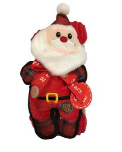 Charmingpet santa claus with bone soft toy