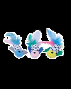 Jouet pour chats, poisson plumes, Turbo