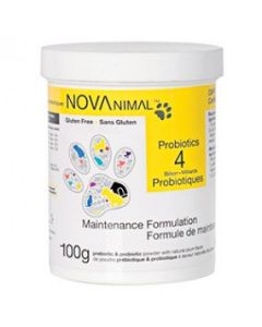 Probiotics for dogs and cats, Novanimal 100g