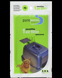 Filtre à air zéolite pour bac à litière fermé, Van Ness