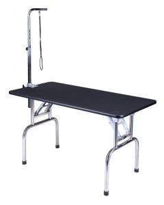 """Table de toilettage transportable 44"""" X 24"""" avec support et courroie"""
