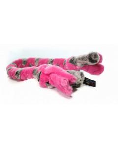 Bande tressée, jouet pour chiens, moyen regulier Schum-Tug rose