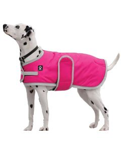 Shedrow K9 Tundra pink winter coat for dogs