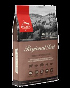 Nourriture pour chats, rouge régional, Orijen
